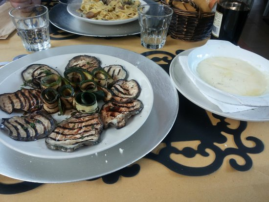 I Ghibellini: Scamorza e verdure grigliate