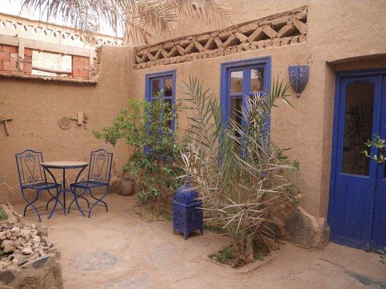 Chez Youssef: Innenhof