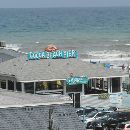 Best Western Cocoa Beach Hotel & Suites : view from balcony