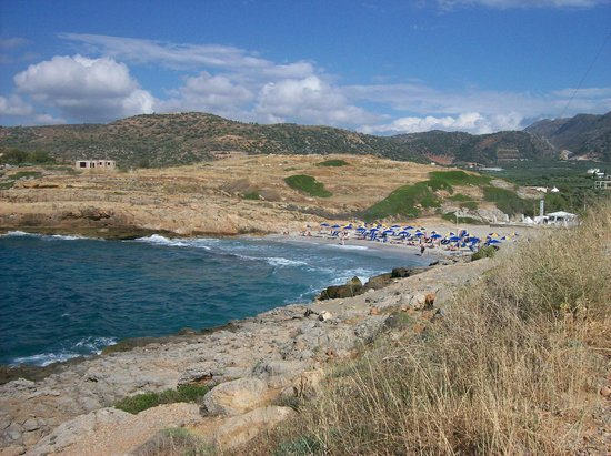 SENTIDO Vasia Resort & Spa : The stony beach past Sissi port and up the hill or taxi!