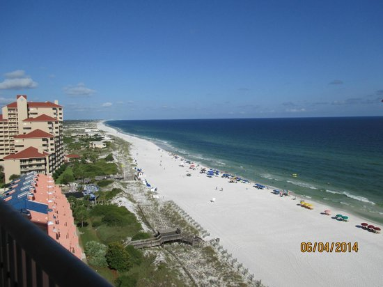 Hilton Sandestin Beach, Golf Resort & Spa : Other side of balcony view