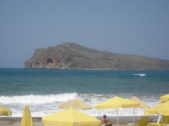 Mastorakis Village: Stranden