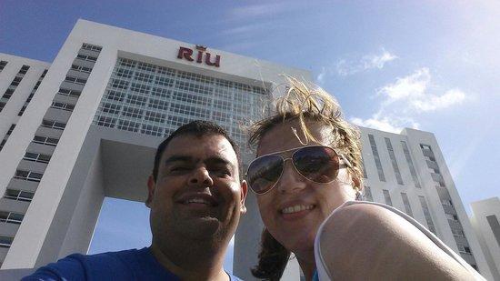 Hotel Riu Palace Peninsula: Gran dia soleado!