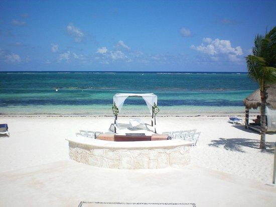 Azul Beach Resort Riviera Maya Wedding Gazebo