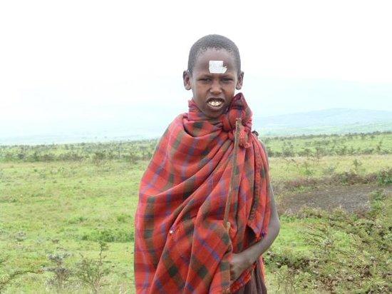 Mbuzi Mawe Serena Camp: Local Masai boy