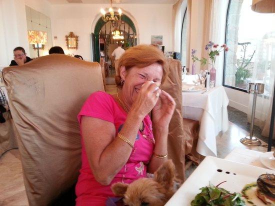 Hotel Le Delos: morte de rire , à la vue des 3 ravioles