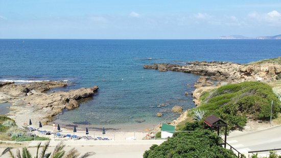 Calabona Hotel Alghero Sardegna: Beach