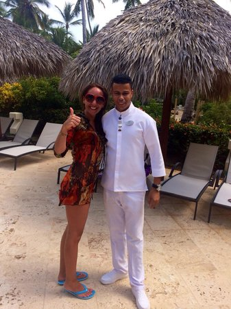 Paradisus Palma Real Golf & Spa Resort: Juan de León el mejor de Royal service
