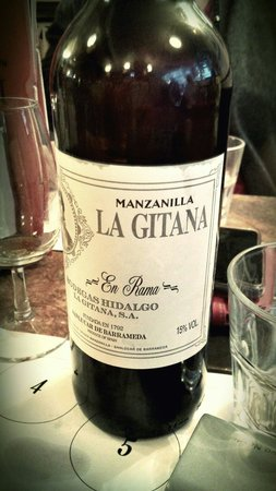 Los Gatos: Superb partially filtered Manzanilla