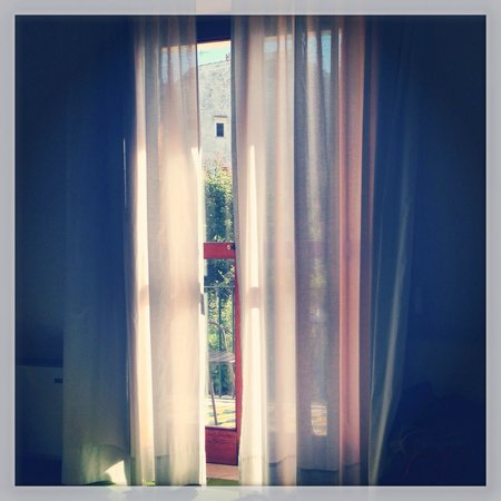 a Casa dei Nonni: View from bed in the morning