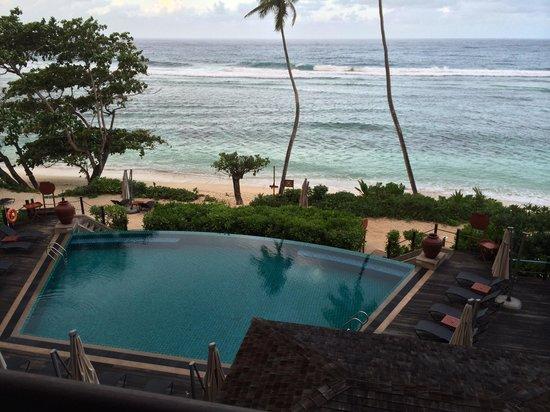 DoubleTree by Hilton Seychelles Allamanda Resort & Spa: Vue de notre chambre