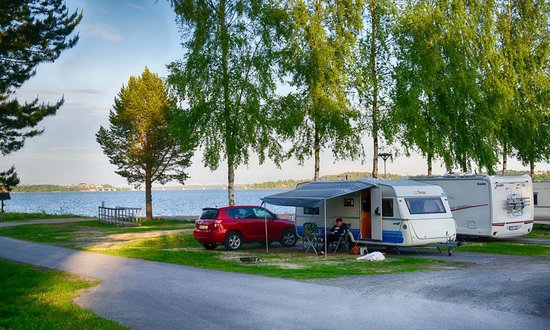 view towards the luleå river - picture of first camp lulea, lulea