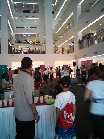 Silka Cheras Kuala Lumpur: ......the shopping mall adjacent to Silka