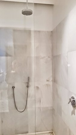 Alma Barcelona: Shower with Rainshower and wand