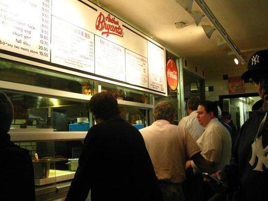 Arthur Bryant's BBQ : ordering
