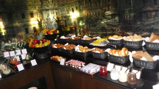 Paradisus Palma Real Golf & Spa Resort: royal service breakfast buffet (this is only 1/3 of it)