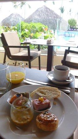 Paradisus Palma Real Golf & Spa Resort: breakfast at Palazzo