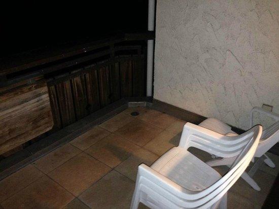 Dorint SportHotel: Balkon