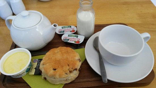 Nothe Fort: Best cream tea on Weymouth!!