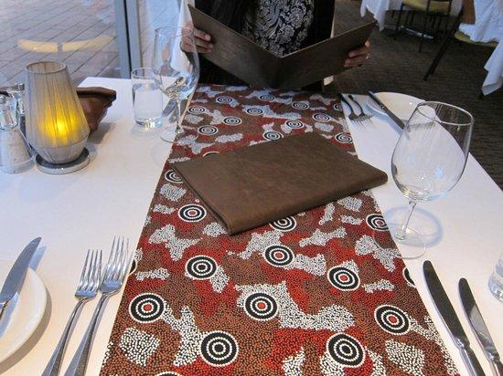 Arnguli Grill & Restaurant: Arnguli Grill table