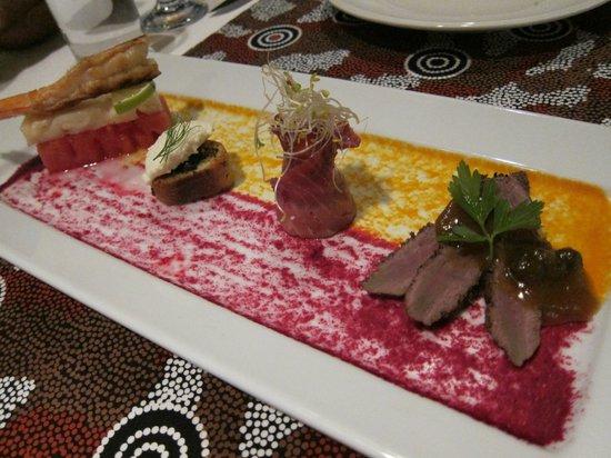 Arnguli Grill & Restaurant: Desert, tasting platter