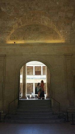 Palace of Carlos V : Blick zum Innenhof