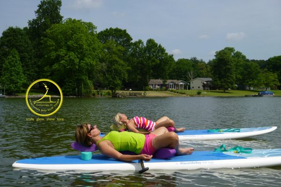 Waconda Bay SUP  - One Joyful Yoga