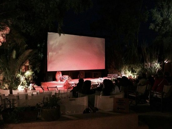 Open Air Cinema Kamari: Kamari open air cinema
