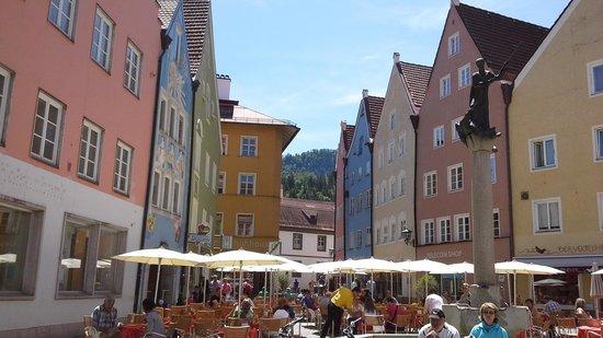 Altstadt von Fuessen: fussen alstadt