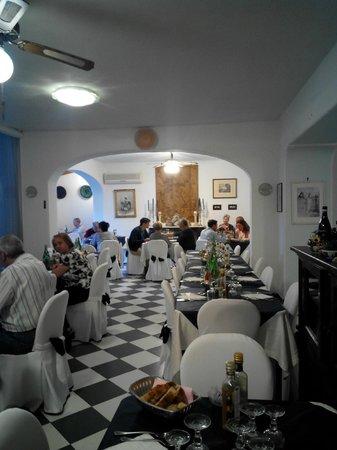 Hotel Corona: salone pranzo