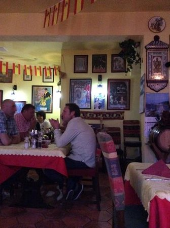 Tapas Spanish Restaurante: restaurant