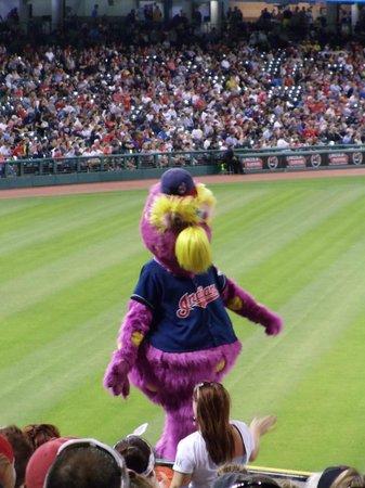 Progressive Field : Slider, the Indians Team Mascot