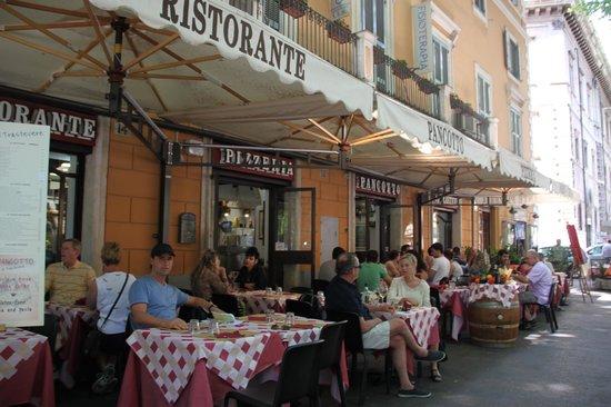 Frente De Restaurante Pancotto Picture Of Pancotto Rome