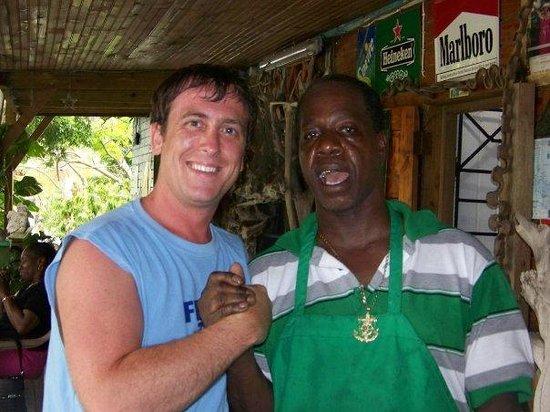 Gutside Bar and Restaurant: Richard and I