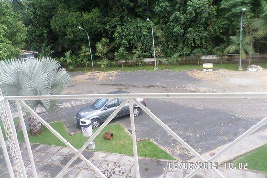 Pousada Reserva Penedo : Vista do apartamento que eu fiquei