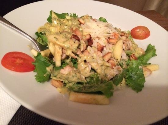 Tulip bistro : Salad, cob not on the corn!