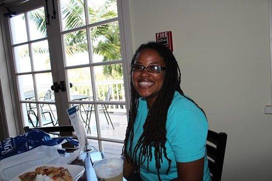 Islandz Tours - Cultural Walking Tours of Downtown Nassau: Our wonderful tour guide, Orchid