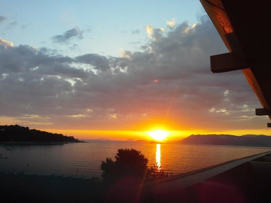 Remisens Hotel Albatros: sunset