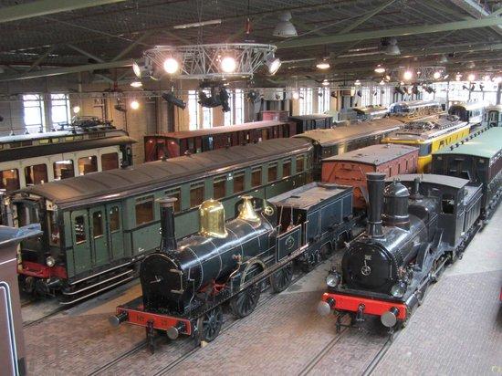 Railway Museum (Het Spoorwegmuseum): De Werkplaats