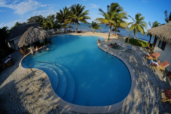 Jaguar Reef Lodge & Spa : Pool Area