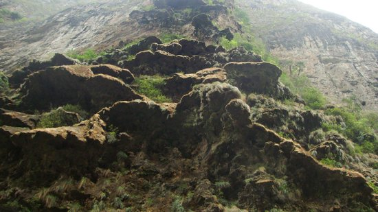 Parque Ecoturistico Canon del Sumidero: en invierno se forma una caída de agua espectacular