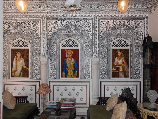 Pearl Palace Heritage - The Boutique Guesthouse : Hall