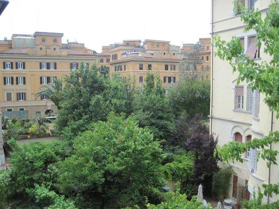 Casa Pariolina: View from the balcony
