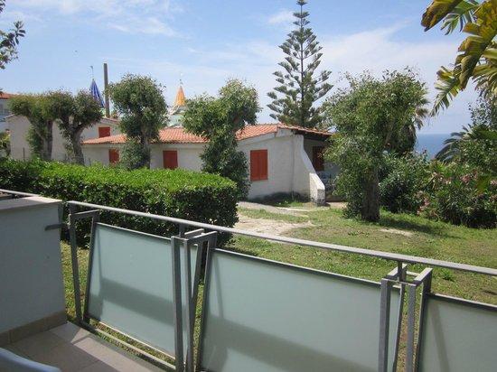 Hotel Villaggio Stromboli: Utsikten från mitt rum