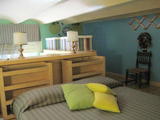Casa Pariolina: Bedroom in loft area