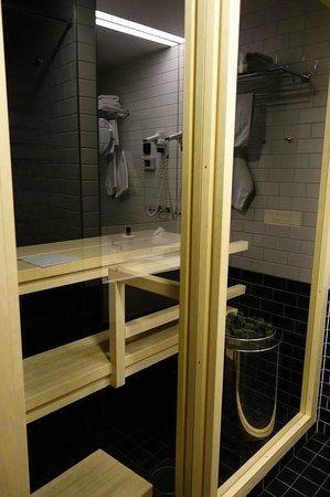 Scandic Paasi: Enjoyed the sauna experinece