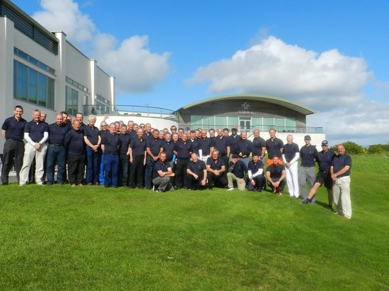 St Mellion International Resort: 54 happy golfers after a competative weekend away