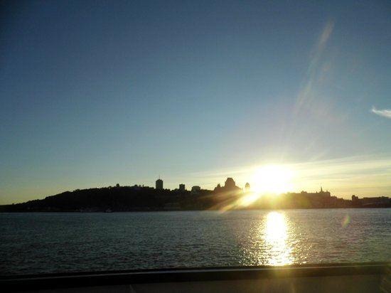 Quebec - Levis Ferry : Sunset