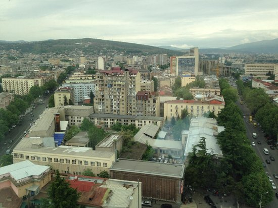 Holiday Inn Tbilisi: View from the room