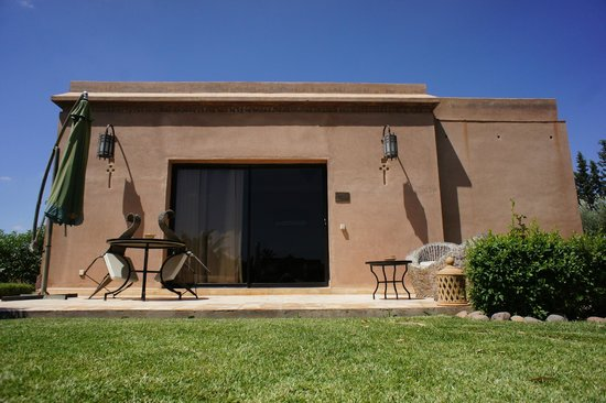 Oasis Jena : La terrasse de la suite